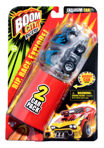 Boom City Racers Fire it up! X Auto dwupak S1